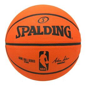 【SPALDING】スポルディング ゲームボールレプリカ 7号球 NBAロゴ入り(83-044Z)