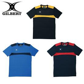 GILBERT ギルバート TシャツPHOTON ブラック×ゴールド ネイビー×レッド ロイヤル×ネイビー (GB-8141 GB-8142 GB-8143) ラグビー 半袖