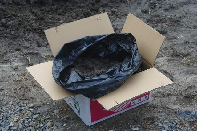 水質浄化に役立つ ビオトープ・メダカ・睡蓮(スイレン)・水草の土 「田土」(荒木田土) 段ボール箱入 約18L+「田土すまし液4L」