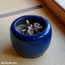 【予約販売】 火鉢 信楽焼 生子10号(30cm)(少し難あり)+灰炭セット(木灰4L+底砂ひゅうが土3L+特級品の小割れ…