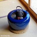 火鉢 信楽焼 生子15号(45cm)約14kg (少し難あり)+ 灰炭セット(木灰12L+底砂ひゅうが土9L(約5.5kg)+特級品…