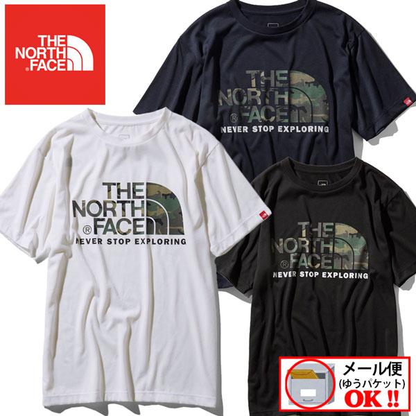【1点までメール便可】 【2019春夏モデル】 ノースフェイス 【THE NORTH FACE】 メンズ Tシャツ ショートスリーブカモフラージュロゴティー / S/S Camouflage Logo Tee NT31932 (半袖シャツ/静電ケア/ランニング/カジュアル)【大人気】
