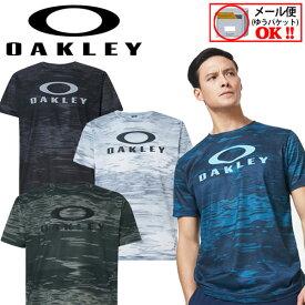【1点までメール便可】 【2020 春夏モデル】 オークリー 【OAKLEY】 メンズ Enhance QD SS Tee Graphic 10.0 半袖 Tシャツ FOA400810 【オススメ】 (男性用/トレーニングシャツ/トレーニングウェア/半袖シャツ/吸汗速乾/ストレッチ/UVカット)