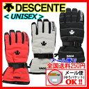 【1点までメール便可】 【35%OFF!】 デサント 【DESCENTE】 UNISEX スキーグローブ スキー手袋 ダウン使用 2015-2016モデル DG...