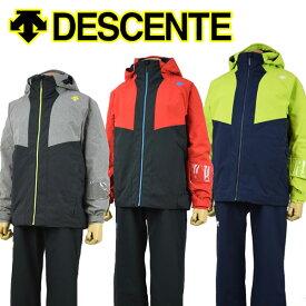 【19-20 モデル】 デサント 【DESCENTE】 メンズ スキーウェア ジャケット / ラクシングパンツ 上下セット スキーセットアップスーツ DWMOJH70 (男性用/スキー用品/スキースーツ/ツーピース/ヒートナビ/暖かい) 【オススメ】