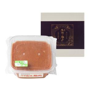 うす塩味梅肉[塩分8%] PET容器+化粧箱 1kg梅 しそ漬 しそ 石神邑 調味料 おすすめ スパイス 梅肉エキス 梅肉ソース お弁当