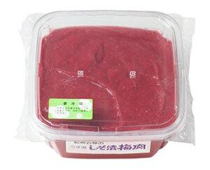 しそ漬梅肉 [塩分13%] PET容器 1kg梅 しそ漬 しそ 石神邑 調味料 おすすめ スパイス 梅肉エキス 梅肉ソース お弁当