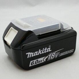 数量限定 純正 マキタ リチウムイオンバッテリ 18V 6.0Ah BL1860B 残量表示付 A-60464 *マーク付 DC18RFで最速約40分充電