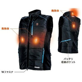 マキタ 充電式暖房ベスト CV202DZ サイズS〜4L 本体のみ(バッテリ・バッテリホルダ・充電器別売)