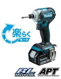 マキタ 18V 充電式インパクトドライバ TD171DZ+BL1860B+DC18RF+収納ケース 青