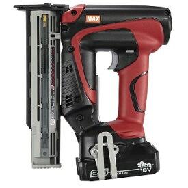 MAX マックス 充電式フィニッシュネイラ 18V 2.5Ah TJ-35FN2-BC/1825A (充電器JC-925A・ 電池パックJP-L91825A・ケース付)
