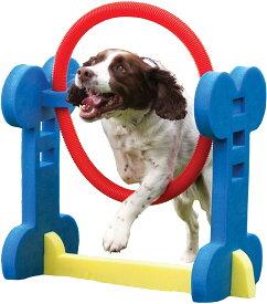 【Rosewood】小型犬用 トレーニング器具 ドッグ・アジリティ イギリス・ローズウッド社製 (フープ)
