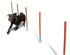 【Rosewood】犬用 トレーニング器具 ドッグ・アジリティ 犬の運動 イギリス・ローズウッド社製 (スラローム)