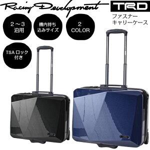 キャリーケース 機内持ち込み 軽量 おしゃれ ブランド (8437) メンズ TRD ティーアールディ ポリカーボネートプラス 2〜3泊 31L 出張 旅行 スーツケース 軽量 おすすめ スーツケース 丈夫