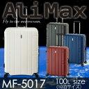 スーツケース AliMAX G 100L(10泊)海外旅行 国内旅行 送料無料