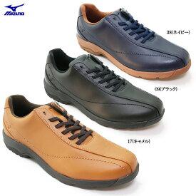 MIZUNO ミズノ LD40IV B1GC1617メンズ ウォーキング コンフォート シューズ 靴 幅広 3E 天然皮革 本革 散歩 旅行 トラベル 男性 紳士