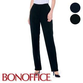 事務服 裾上げらくらくパンツ AP6246 制服 ユニフォーム 受付 医療事務 オフィス 小さいサイズ 大きいサイズ BONOFFICE ボンオフィス BONMAX ボンマックス