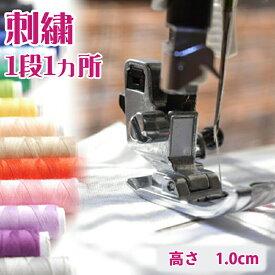 オリジナル 刺繍【1段・1箇所】【高さ 1cm 1.3cm 1.5cm】12文字まで 文字入れ ※刺繍単品のご注文はお受けできません