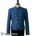 サービングコート[男性用]ジャケットインディゴデニムホテルフロントフォーマルユニフォーム制服DA2622