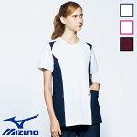 スクラブMZ-0112全4色レディース女性用白衣医療着医療衣メディカルウェアユニフォーム多色mizunoミズノuniteユナイト