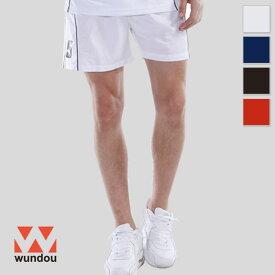 【返品・交換不可】バレーボールパンツ P1680 【S〜XXL】 [男女兼用] wundou ウンドウ スポーツウェア トレーニングウェア