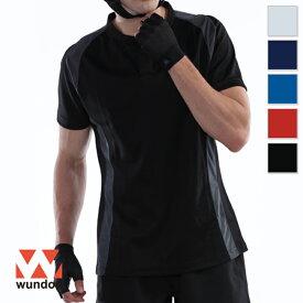 【返品・交換不可】ラグビーシャツ P3510 【110cm〜150cm】 [男女兼用キッズ] wundou ウンドウ スポーツウェア トレーニングウェア