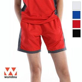 【返品・交換不可】バドミントンパンツ P3680 【S〜XXL】 [男女兼用] wundou ウンドウ スポーツウェア トレーニングウェア