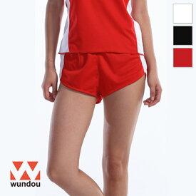 【返品・交換不可】ウィメンズランニングパンツ P5590 【S〜XL】 [女性用] wundou ウンドウ スポーツウェア トレーニングウェア