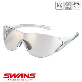 スポーツサングラス SOU2C-0812 W [返品・交換不可]SWANS スワンズ SOU2-C ソウ2シーフレームレス ゴルフ 釣り スポーツ アウトドア