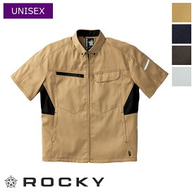 ユニセックス半袖ブルゾン [ユニセックス] RJ0914 ROCKY ロッキー BONMAX ボンマックス 作業服 作業着 ワークユニフォーム ワークウェア