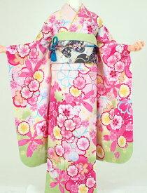 【レンタル】成人式 衣装 レンタル K6162 xmiss ピンク地黄花(成人式 結婚式 結納 お呼ばれ 振袖フルセット)