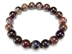 貴重天然石3大ヒーリング石のスギライト約11mm数珠ブレスレット