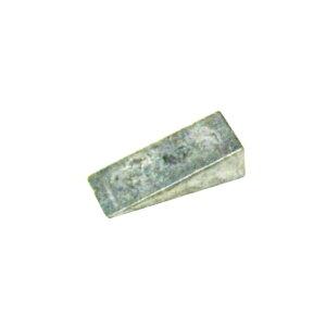 鉛製 クサビ(小) レベル調整用 入数:50個入り 楔/くさび