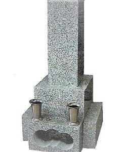 墓石 石碑 御影石 一式(文字彫入・運送・据え付け・ステンレス花筒・線香皿・納骨所(カロートを除く)等を含む) 墓石 墓 施工日応相談