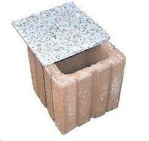 ペット用墓石納骨所御影石蓋付き(15cm角) 猫・小動物・小型犬用 縦横高さとも15cm(内径10cm)単独注文の場合は翌日発送。骨壺のまま入れられる方には不向きです。 位牌 /ペット墓/ペットの墓/