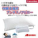 フランスベット いびき枕シリーズ 快眠支援枕 アンチスノアピロー 自動寝返りを促すハイテク枕 nitronic社とのコ…
