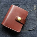 レッドムーン ウォレットREDMOON ショートウォレット RM-NM01-SC サドルレザー 財布 スマートウォレット