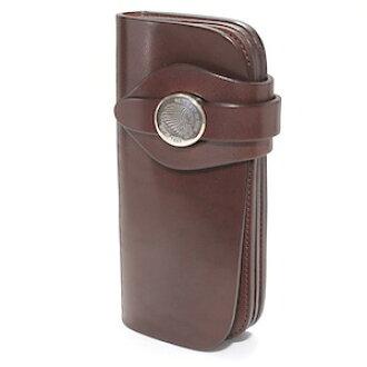 Red moon wallet MUMIYA long wallet MM-PR02-SORM