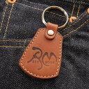 レッドムーン キーホルダーREDMOON S-RM-KH1 RM焼き印
