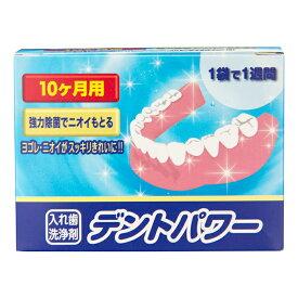 入れ歯洗浄剤 デントパワー 10ヵ月用【大人気】