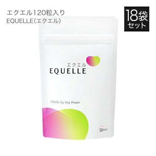 大塚製薬 エクエル パウチ 120粒×18袋 [ エクオール 大豆イソフラボン サプリ ]【大人気】
