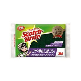 3M (スリーエム) スコッチブライト 抗菌ウレタンスポンジたわし 30枚 [S-23KS]
