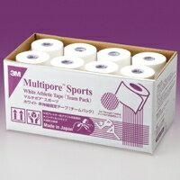 3M(スリーエム) テーピング マルチポアスポーツ ホワイト [チームパック] 50mm×12m 24巻 [2980TP-50]