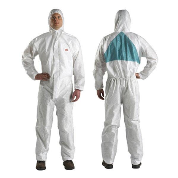 3M(スリーエム) 化学防護服 XLサイズ (身長179〜187cm 胸囲108〜115cm) 20着 [4520 XL ]