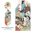 EVISEN(エビセン)HYAKKI YAENZU LEFT(skateboard)(スケートボード)(deck)(デッキ)(スケボー)8.0インチ