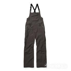 HOLDEN(ホールデン)W's Lotus BibChambray(グレー)(snowboard)(スノーボード)(スノボ)(ウェアー)(wear)(pants)(ビブ)(パンツ)(womens)(ウィメンズ)(レディース)(2018)(2019)