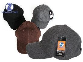NEWHATTAN ニューハッタン ウール/アクリル ブレンド キャップ Wool Acrylic Blend Cap