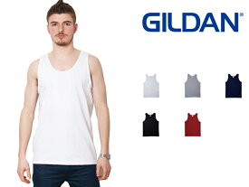 ギルダン GILDAN タンクトップ メンズ 白 S〜XLサイズ #2200 Ultra Cotton 6.0 oz Tank Top