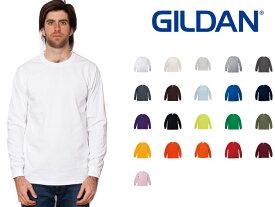 ギルダン GILDAN 長袖 Tシャツ キッズ&メンズ 白 YL〜XLサイズ #2400 Ultra Cotton 6.0 oz Long Sleeve T-Shirt
