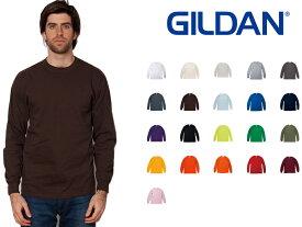 ギルダン GILDAN 長袖 Tシャツ キッズ&メンズ カラー YL〜XLサイズ #2400 Ultra Cotton 6.0 oz Long Sleeve T-Shirt